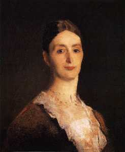 Portrait of Frances Mary Vickers