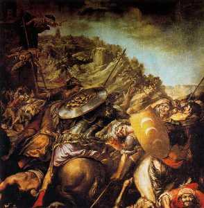 Ataque de los sarracenos al convento de Asís