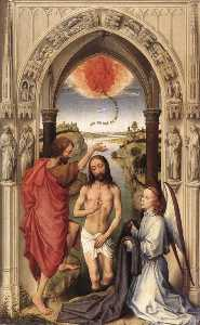 St John the Baptist altarpiece - central panel