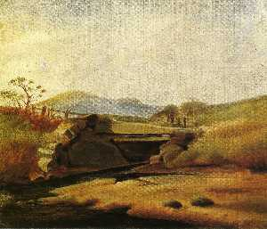 Landscape after Second Lesson with Edward Moran