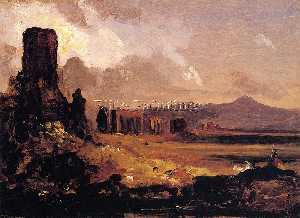 Campagna di Roma (study for Aqueduct near Rome)