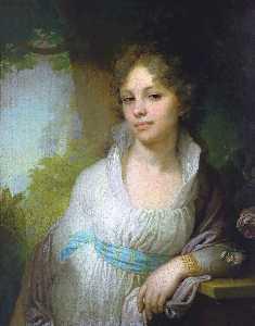 Portrait of Maria Lopukhina