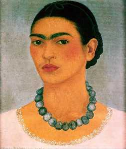 Portrait with Heavy Necklace