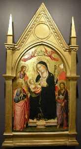 Madonna con la Bambino, San Giovanni Evangelista, San Jacopo e San Nicola di Bari