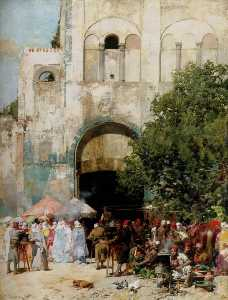 Market Day, Constantinople