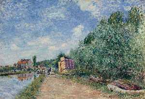 Canal du Loing Chemin de Halage