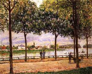 Promenade of Chestnut Trees