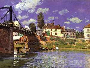 The Bridge at Villeneuve-la-Garenne