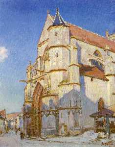 The Church at Moret