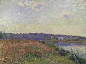 The Fields and Hills of Veneux Nadon