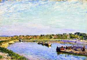 The Port of Saint Mammes, Morning