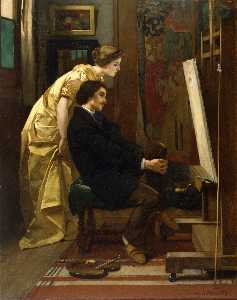 The Painter and His Model