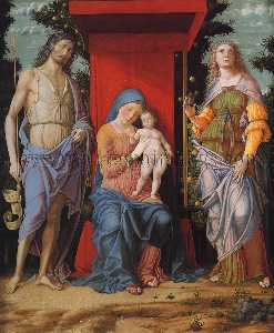 Virgin and Child with the Magdalen and St John the Baptist