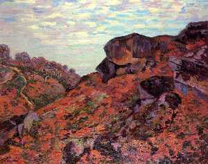 Crozant, the Sedelle Heights, Morning