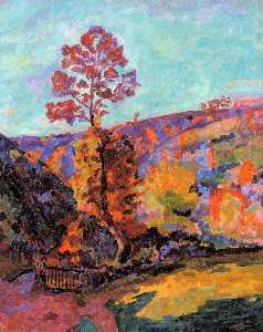 Landscape at Crozant