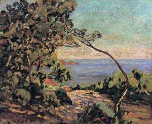 The Sea at Pointe de la Perriere, Saint-Palais