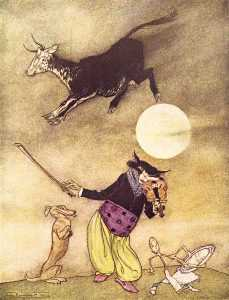 Mother Goose. The Cow Jumped Over the Moon