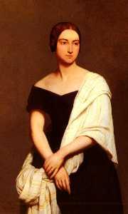 Portrait De Mme. Frederick Kent