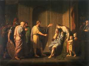 Cleombrotus Ordered into Banishment by Leonida II King of Sparta