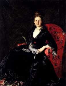 Portrait of Mme N. M. Polovtsova