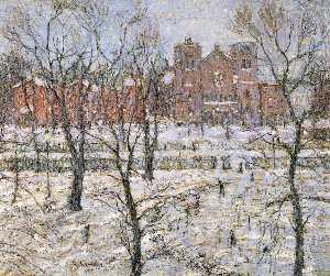 Stuyvesant Square in Winter