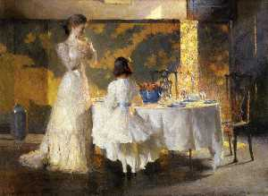 The Artist's Daughters (aka The Dining Room)