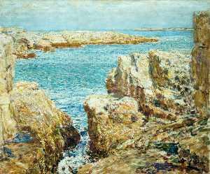 побережье сцены , острова косяков