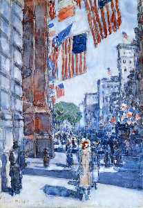 Flags, Fifth Avenue