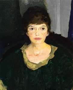Portrait of Emme in Night Light