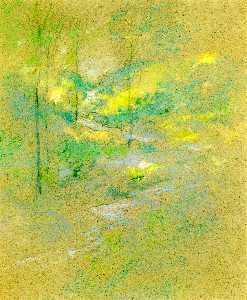 Brook among the Trees
