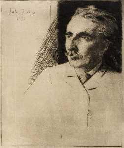 Portrait of John F. Weir 1
