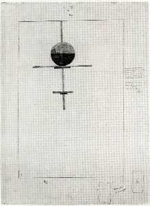 Vertical Suprematist Construction
