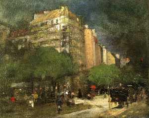 Cafe du Dome (aka On the Boulevard Montparnasse)