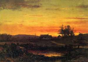 Twilight Landscape