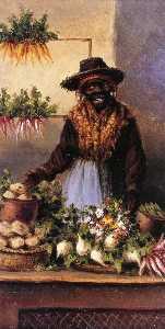 Vegetable Vendor at Charleston Market