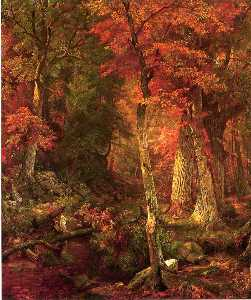 森林 インテリア インチ 秋
