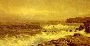 ロッキー 海  海岸