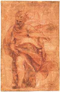 Study for an apostle 3