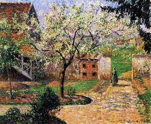 Flowering Plum Tree, Eragny