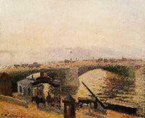 Morning, Rouen, the Quays