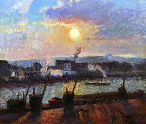 Sunset, Rouen