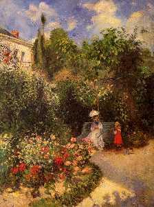 The Garden at Pontoise