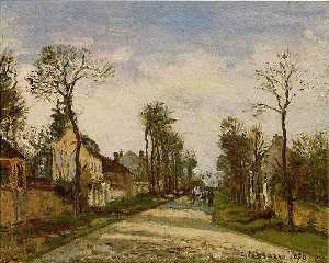 The Road to Caint-Cyr at Louveciennes