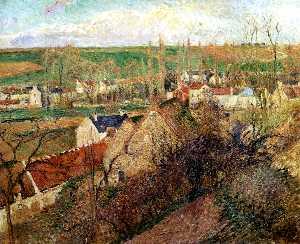 View of Osny near Pontoise