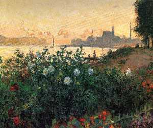 Argenteuil, Flowers by the Riverbank