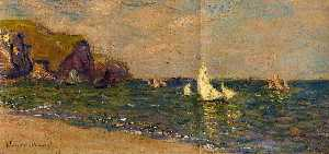Sailboats at Sea, Pourville