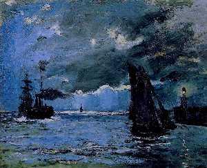 Seascape, Night Effect