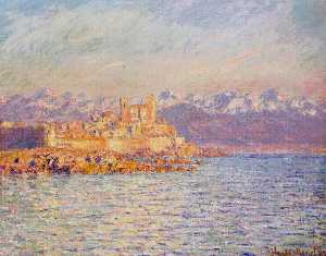 The Bay of Antibes