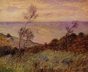 The Cliffs of Varengeville, Gust of Wind