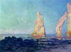 The Needle of Etretat, Low Tide